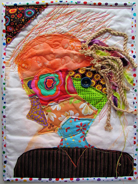 Self Portrait: Art Quilts Around the World Challenge