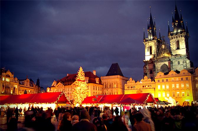 praga mercado navidad