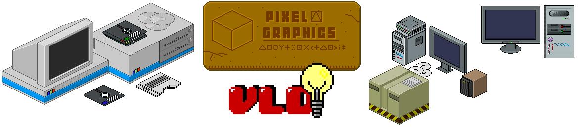 Isometric Pixel Graphics