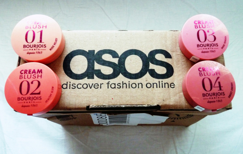 ASOS haul Bourjois cream blush