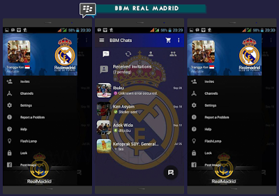 BBM MOD Club Football Themes v2.10.0.31 Apk Android
