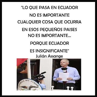 Julián Assange Ecuador