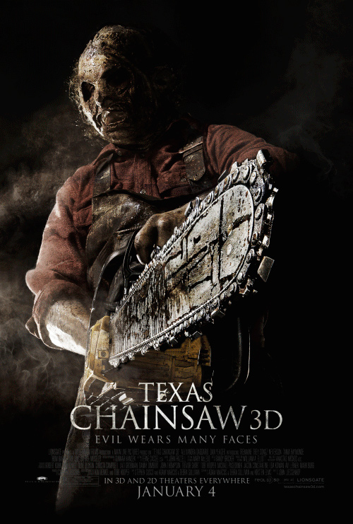 texas chainsaw 3d review Shot in 3d using the red epic camera system with the latest rig from 3ality technica, 'texas chainsaw' debuts on 3d blu-ray with a first-rate, near-reference 1080p/mvc mpeg-4 encode (240:1) depth is often phenomenal as objects at the far end of open roads and hallways feels elongated and penetrate deep into the screen.