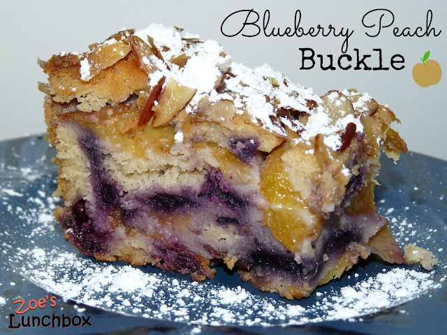 Blueberry Peach Buckle