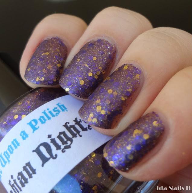 Rapunzel Nails: Ida Nails It: Once Upon A Polish Poison Apple, Arabian