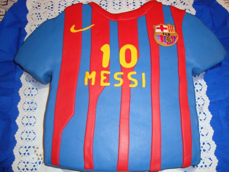 Dulcear t tarta camiseta messi - Lucio barcelona decoracion ...