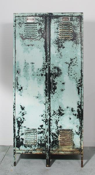 industrial chic metal lockers from rocket century