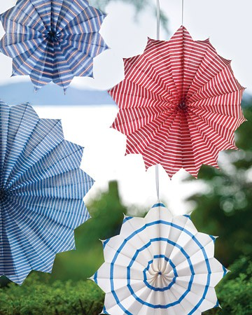 Inspiration : 4th Of July decor!