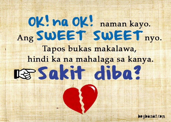 Love Quotes For Him Tagalog Text : Pinoy Sad Love Quotes and Sad Love Messages 4