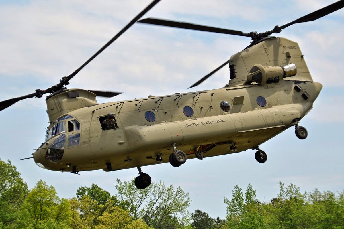 Boeing Chinook COlombia