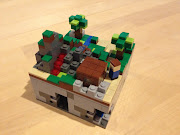 Each chunk can be connected to the others. And, in true LEGO style, .