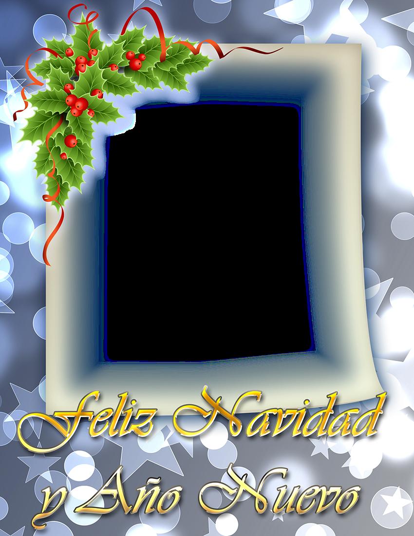 Noviembre 2013 marcos en psd y png para descargar gratis - Marcos navidad fotos ...