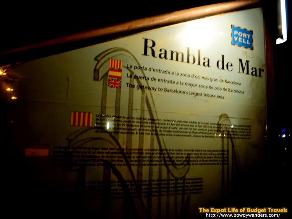 Rambla-De-Mar-at-Night-Like-No-Other-Barcelona-|-The-Expat-Life-Of-Budget-Travels