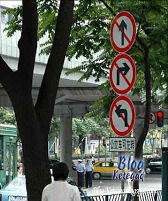 Papan tanda yang mengelirukan