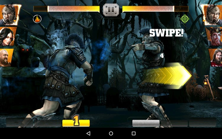 Download Game WWE Immortals for Android