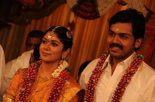 Karthi and Ranjani Wedding Photos