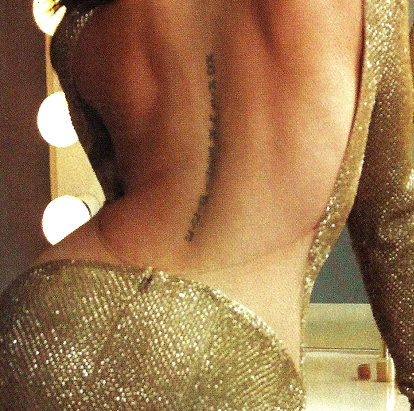 Back Word Tattoos