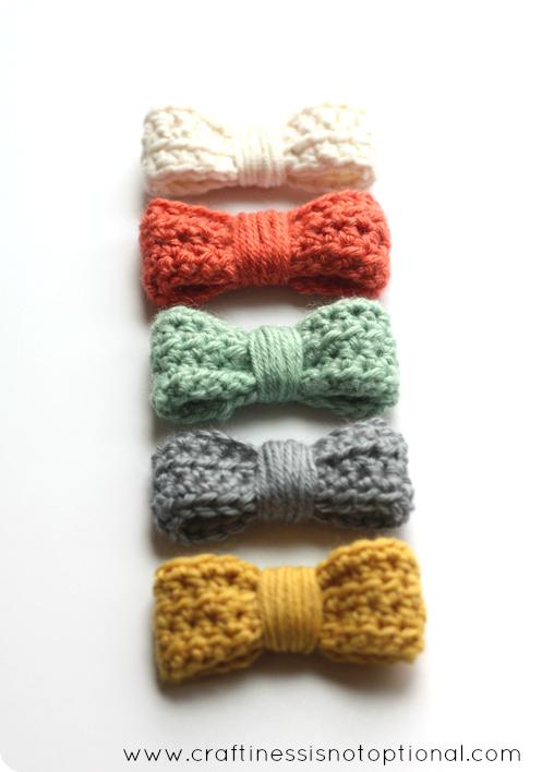 Easy Crochet Bow Tutorialpattern