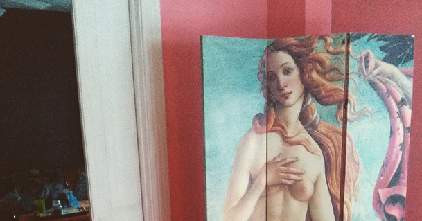 The Lovely Side Sandro Botticelli S The Birth Of Venus In My Front Room