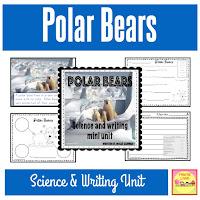 Polar Bears - SCIENCE AND WRITING MINI UNIT