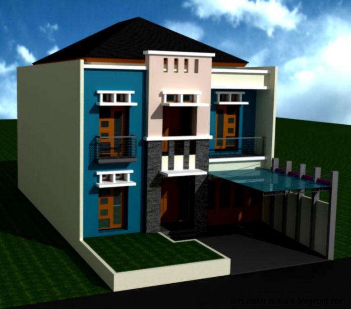 Desain Rumah Tinggal Minimalis di Komplek Setneg Cidodol Kebayoran