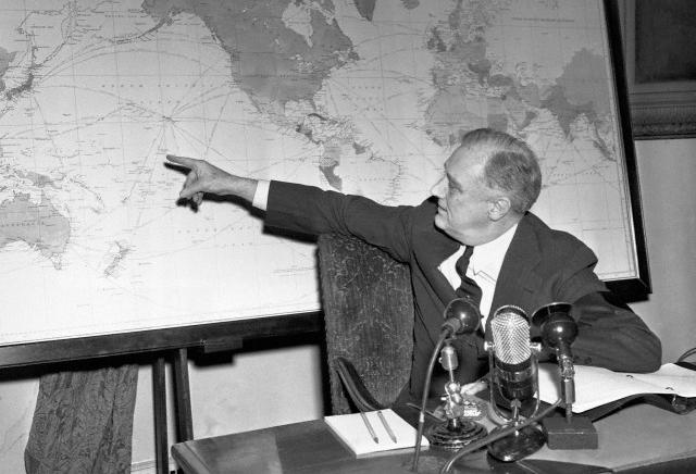 President Franklin D. Roosevelt Explains War Strategy to America, Fireside Chat Feb. 23, 1942