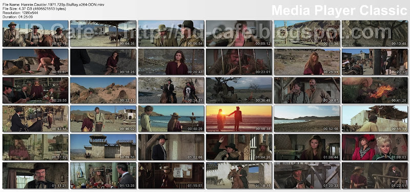Hannie Caulder 1971 video thumbnails