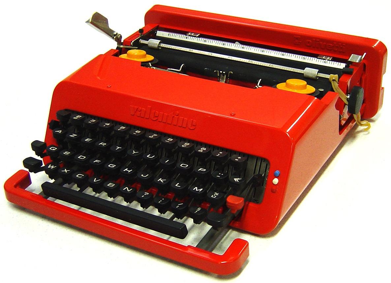 oz typewriter on this day in typewriter history happy valentine typewriter day. Black Bedroom Furniture Sets. Home Design Ideas