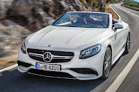 Mercedes-AMG S 63 4Matic Cabriolet (2016) Front Side