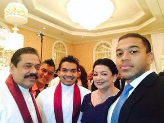 Mahinda Rajapaksa Family