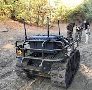 Démonstration de la mule Probot de l'entreprise Robo-