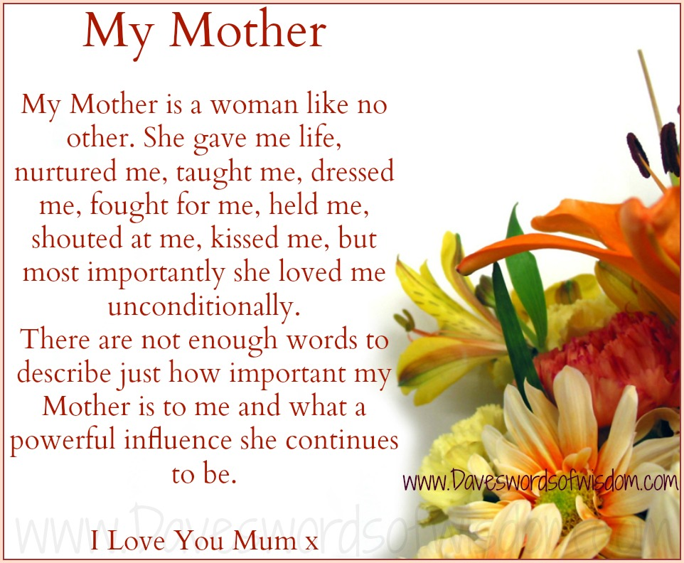 why i admire my mother Free i admire my mom papers, essays, and research papers why do i love because my mom taught me how to love she was the one i ran crying to when i was a kid.