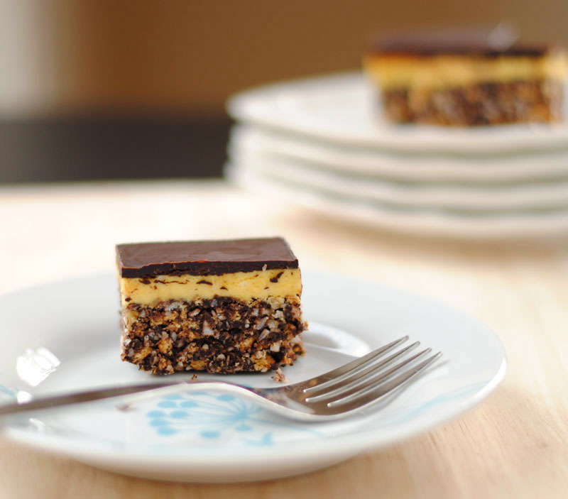 Leanne Bakes Canadian Kitchen Nanaimo Bars