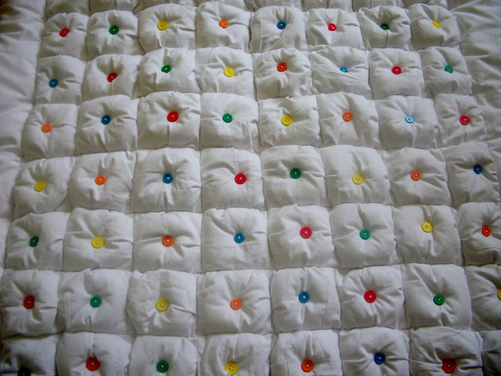 Proverbs 31 Life: Puff Baby Quilt : baby puff quilt - Adamdwight.com