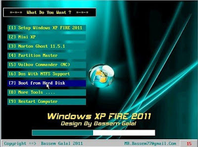 Windows XP Fire 2011