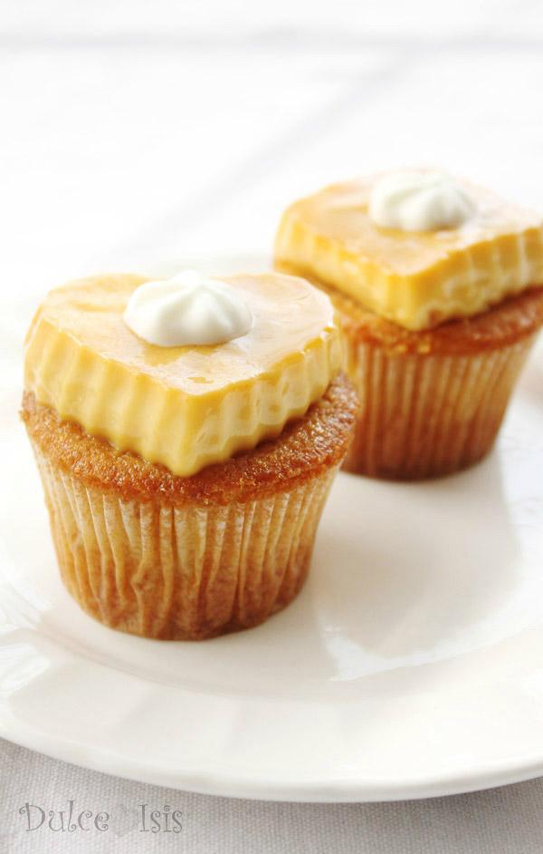 Cupcakes de Flan