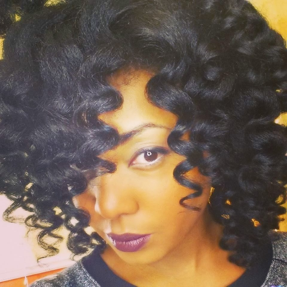 How to Curl Natural Hair with a Curling Wand - KeepitKinkyKeepitKinky