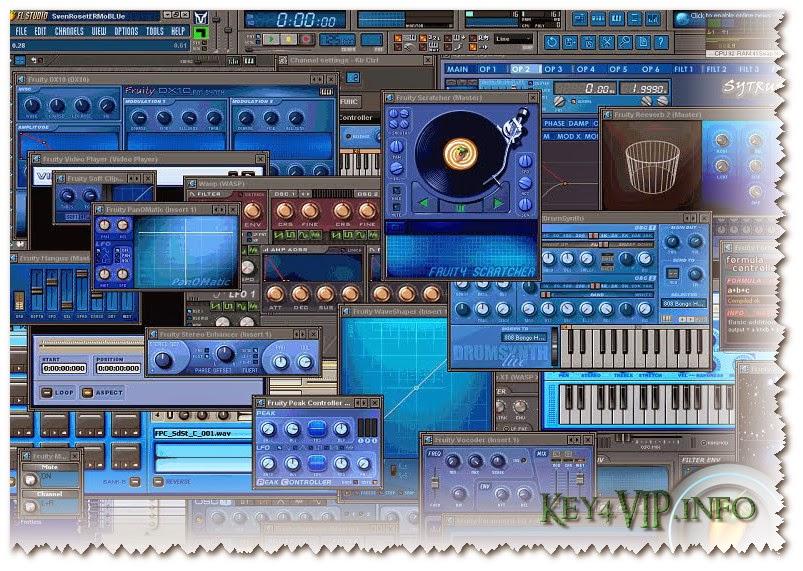 FL Studio Producer Edition 11.1.0 R2 (32-64 bit)+Plugins,Phần mềm tự sáng tạo,sáng tác,biên tập Music