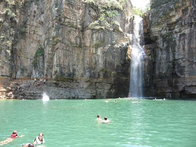 waterfall Chapada Diamantina