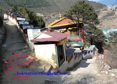Namche Bazaar, Monastery