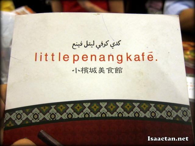 Little Penang Kafe Midvalley Megamall