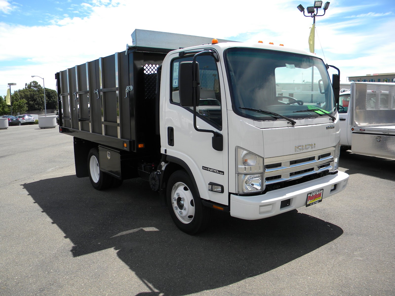 Flatbed Landscape Trucks Flatbed Dump And Landscape