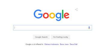 Perubahan logo baru pada tampilan google search engine hari ini 02 Sept 2015