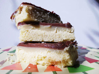 Millionaire Shortbread Bars | www.happyhealthymotivated.com
