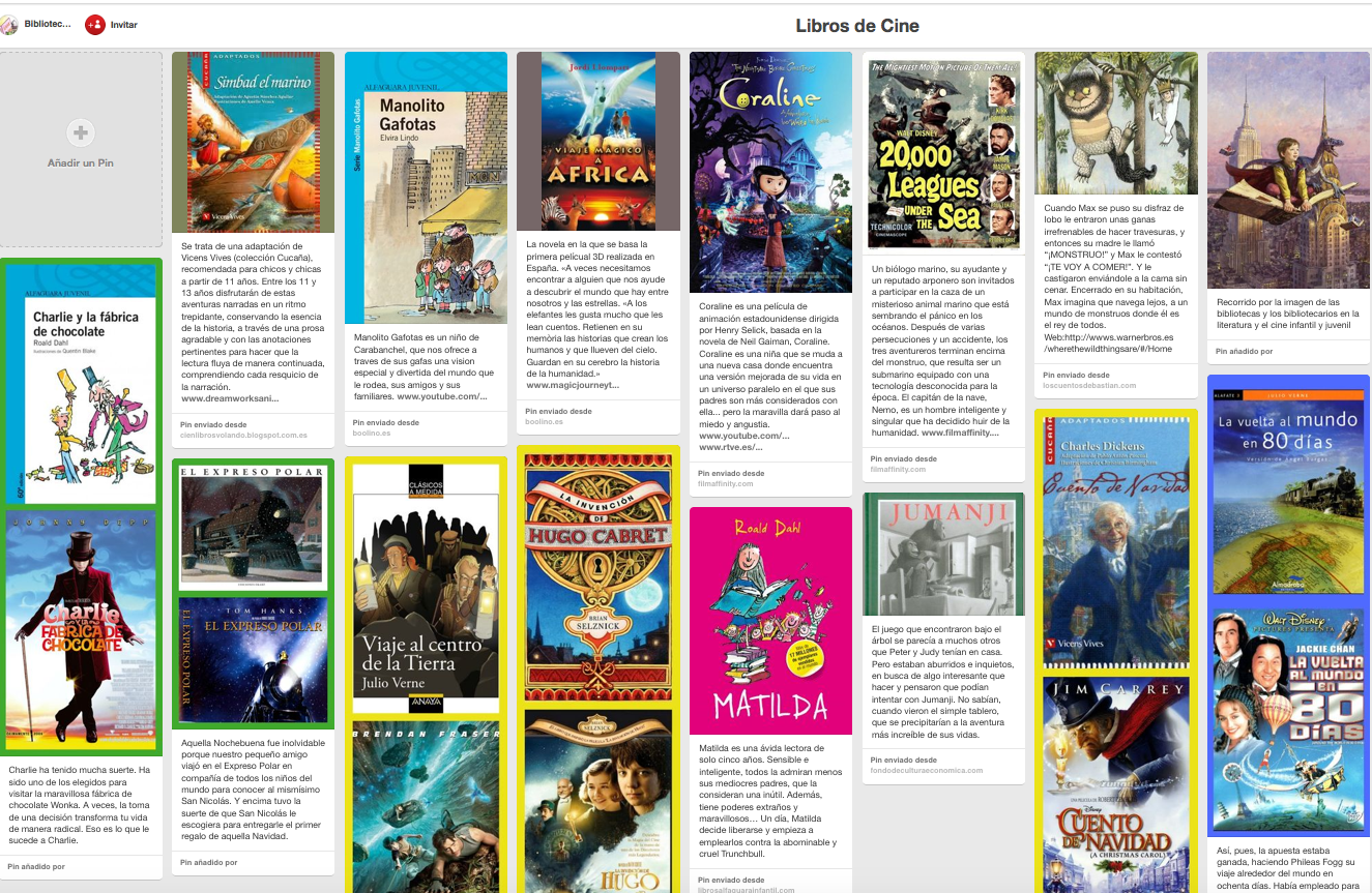 http://es.pinterest.com/bescolar/libros-de-cine/