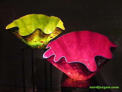 Chihuly Garden and Glass: Nerdy in Seattle