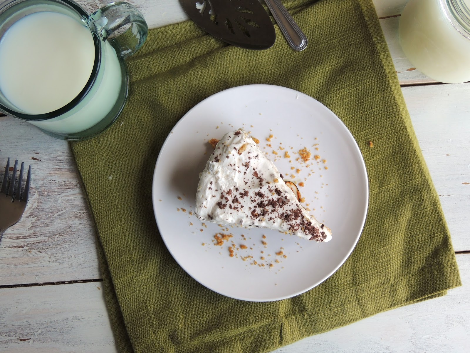 Leave a Happy Plate: Chocolate Peanut Butter Truffle Pie