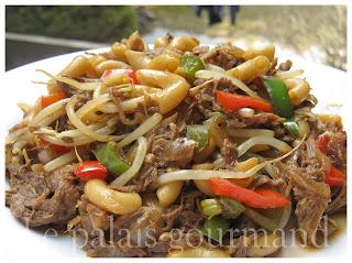 Le palais gourmand macaroni chinois - Un chinois en cuisine ...