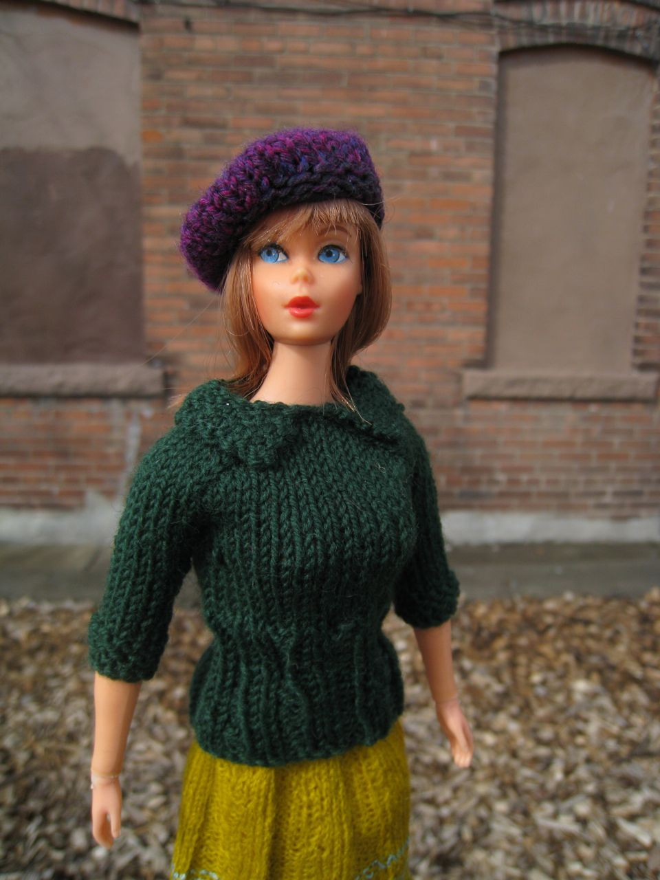Free Barbie Knitting Patterns : Best Barbie Knits: New Barbie Knitting Pattern