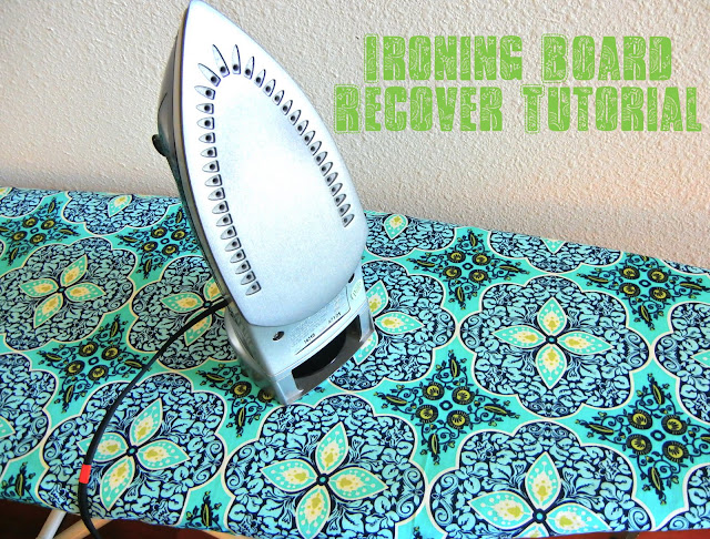 ironing board cover tutorial sweet verbena. Black Bedroom Furniture Sets. Home Design Ideas